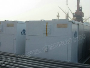 Ettes Power Container 1MW Natural Gas Generator Generation