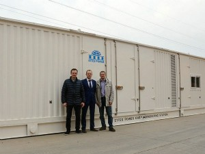 Ettes Power Russia 1MW 1000KW Container Gas Engine Generator