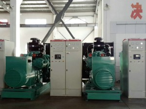 Ettes Power Cummins Engine Diesel Fuel Generator