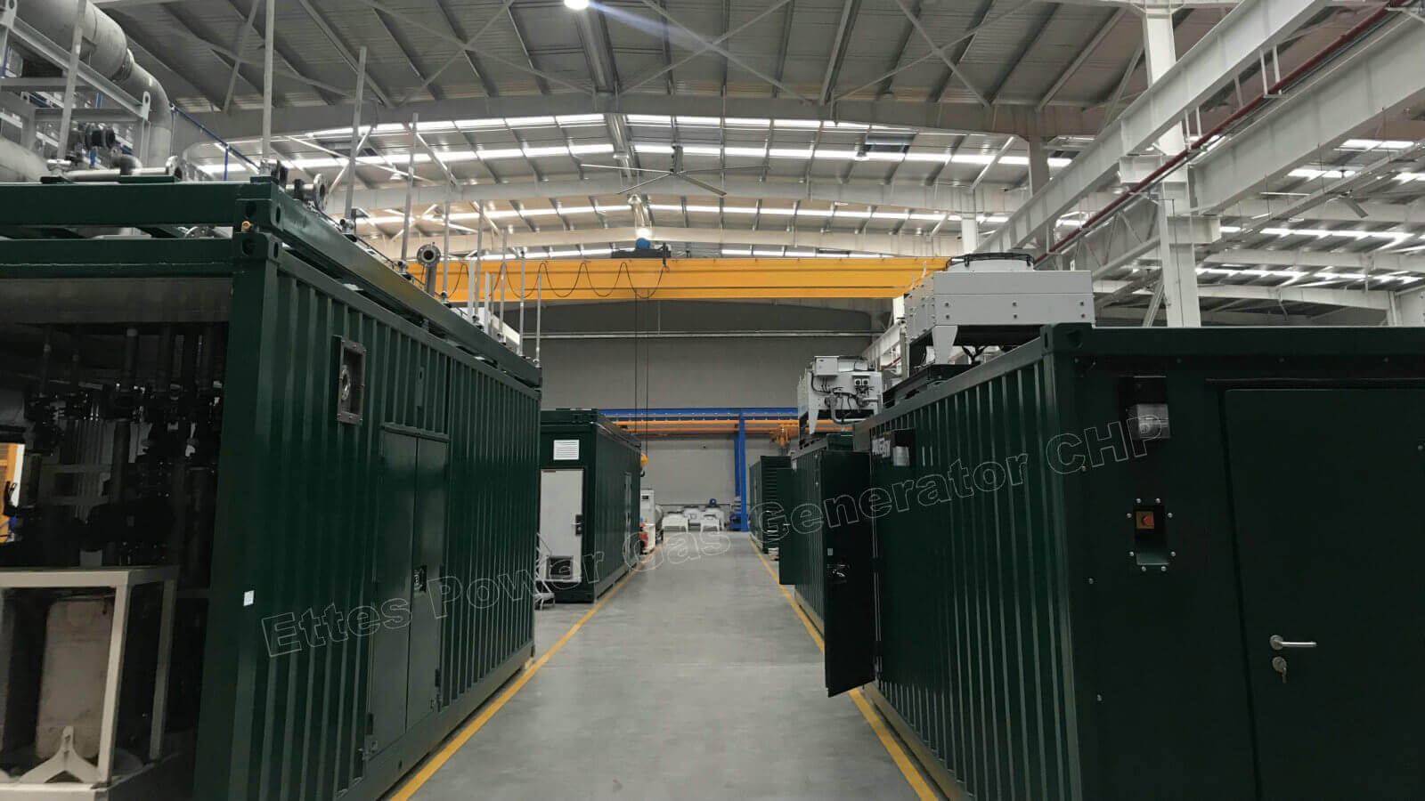MAN & MWM Container Gas Cogeneration to Latin America