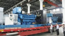 2000KVA High Voltage MWM Diesel Generator Set to Finland