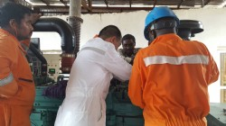 Commissioning & Troubleshooting of Ettes Gas Gensets in Nigeria