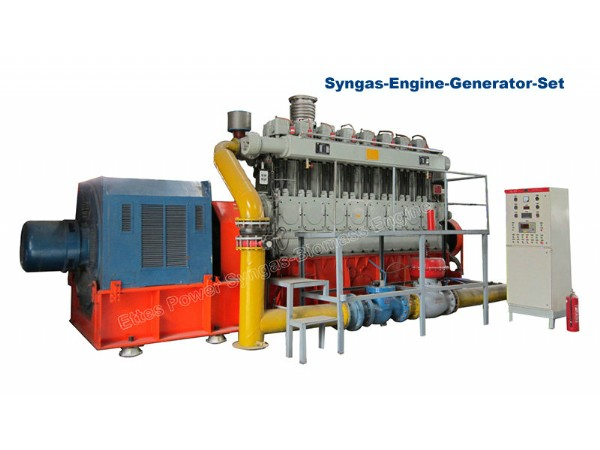 500kW Biomass Engine